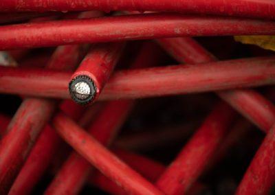 Câble aluminium coaxial noir